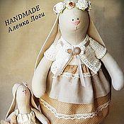 Куклы и игрушки ручной работы. Ярмарка Мастеров - ручная работа Зайки ванильные. Handmade.