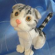 Куклы и игрушки ручной работы. Ярмарка Мастеров - ручная работа Кот-ротозей)) игрушка. Handmade.