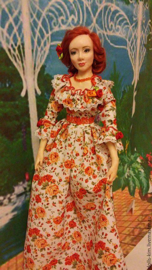 Коллекционные куклы ручной работы. Ярмарка Мастеров - ручная работа. Купить Аннушка. Handmade. Комбинированный, кукла в подарок
