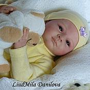 Куклы и игрушки ручной работы. Ярмарка Мастеров - ручная работа Алеша-кукла реборн Людмилы Даниловой. Handmade.