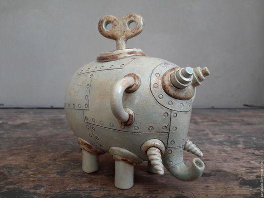 """Статуэтки ручной работы. Ярмарка Мастеров - ручная работа. Купить """" Слон """".. Handmade. Комбинированный, стимпанк подарок"""