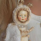 Куклы и игрушки ручной работы. Ярмарка Мастеров - ручная работа Моли - маленькая домашняя моль. Handmade.