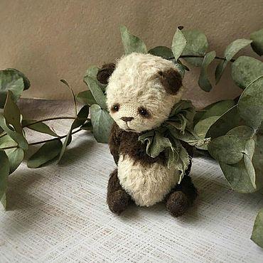 Куклы и игрушки ручной работы. Ярмарка Мастеров - ручная работа Игрушки: Мишка тедди панда Джони. Handmade.