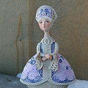 """Куклы и игрушки ручной работы. Ярмарка Мастеров - ручная работа Кукла-шкатулка """"Бархатный вечер"""". Handmade."""
