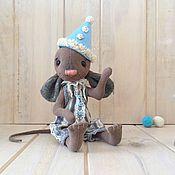 Куклы и игрушки ручной работы. Ярмарка Мастеров - ручная работа Цирковой мышонок. Handmade.