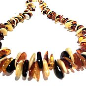 Украшения handmade. Livemaster - original item Beads from natural amber. Handmade.