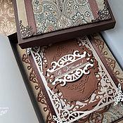 Открытки ручной работы. Ярмарка Мастеров - ручная работа открытка в коробочке«Юбилейная». Handmade.