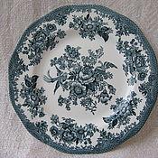 Винтаж handmade. Livemaster - original item Plate. Wedgwood. England.. Handmade.