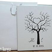 Свадебный салон ручной работы. Ярмарка Мастеров - ручная работа Свадебное дерево пожеланий. Handmade.