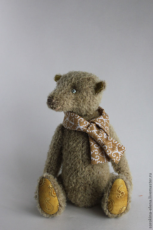 Мишки Тедди ручной работы. Ярмарка Мастеров - ручная работа. Купить Филипп. Handmade. Мишка, мишка в одежке