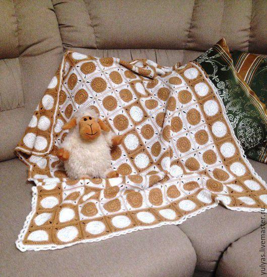 Пледы и одеяла ручной работы. Ярмарка Мастеров - ручная работа. Купить Детский плед. Handmade. Плед, плед детский