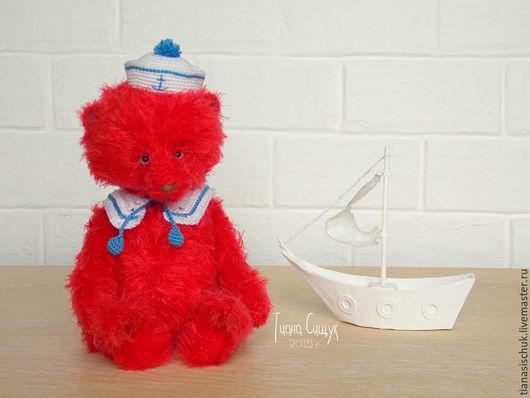 Мишки Тедди ручной работы. Ярмарка Мастеров - ручная работа. Купить Мишка Тедди Морячок (18 см). Handmade.