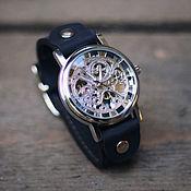 Украшения handmade. Livemaster - original item Wrist black watch Tiny, classic. Handmade.