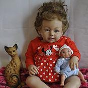 Куклы Reborn ручной работы. Ярмарка Мастеров - ручная работа Кукла реборн девочка Аля. Handmade.