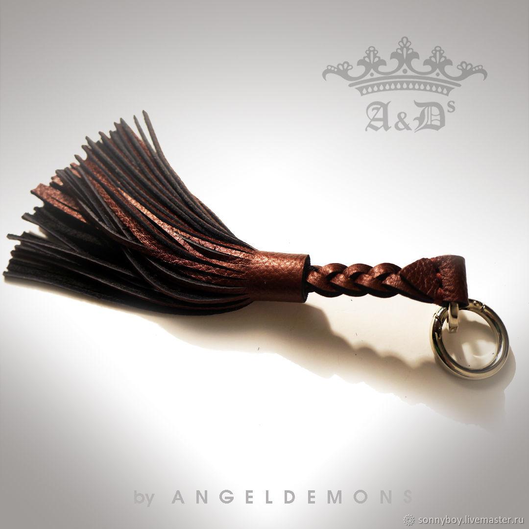 Брелок для сумки из кожи - Handbag Keychain