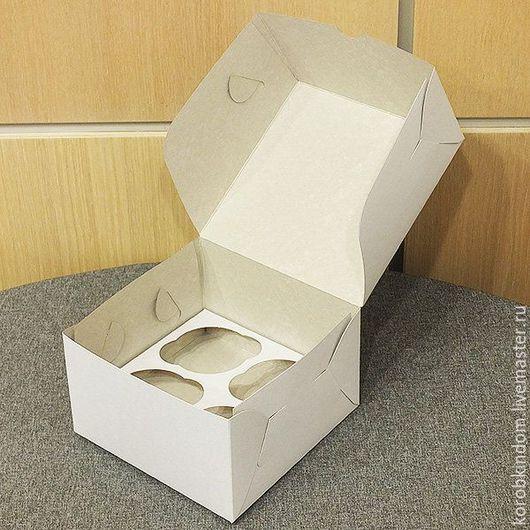Упаковка ручной работы. Ярмарка Мастеров - ручная работа. Купить Коробочка 16х16х10 см белая. Handmade. Коробочка, коробка для мыла