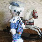 Куклы и игрушки ручной работы. Ярмарка Мастеров - ручная работа Мишка Арлекин-мушкетер. Handmade.