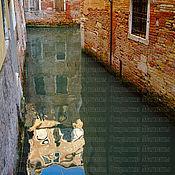 """Фотокартины ручной работы. Ярмарка Мастеров - ручная работа Фотокартина """"Венеция. Небо в воде"""". Handmade."""