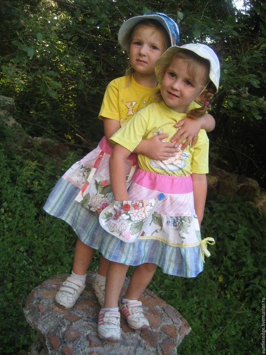 Одежда для девочек, ручной работы. Ярмарка Мастеров - ручная работа. Купить ЮБКА для малышки СТИНА. Handmade. Комбинированный, розовая юбка