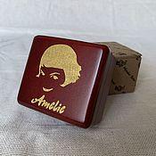 Подарки к праздникам handmade. Livemaster - original item Amelie Music box Amelie with wind-up mechanism. Handmade.
