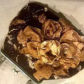 Валяная сумка Горький шоколад