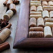Фурнитура для шитья ручной работы. Ярмарка Мастеров - ручная работа Пробка винная натуральная от вина терракота грузия. Handmade.