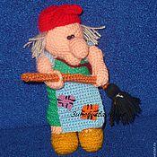 Куклы и игрушки ручной работы. Ярмарка Мастеров - ручная работа Баба Яга. Handmade.