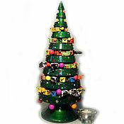 Подарки к праздникам handmade. Livemaster - original item tree-pyramid-candy bowl (height 53cm.). Handmade.