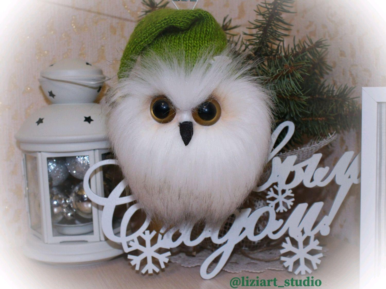Совёнок. Полярная сова, Декор в стиле Тильда, Волгодонск,  Фото №1