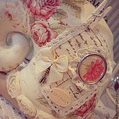 Куклы и игрушки ручной работы. Ярмарка Мастеров - ручная работа Улитка Тильда. В стиле Шебби  3. Handmade.