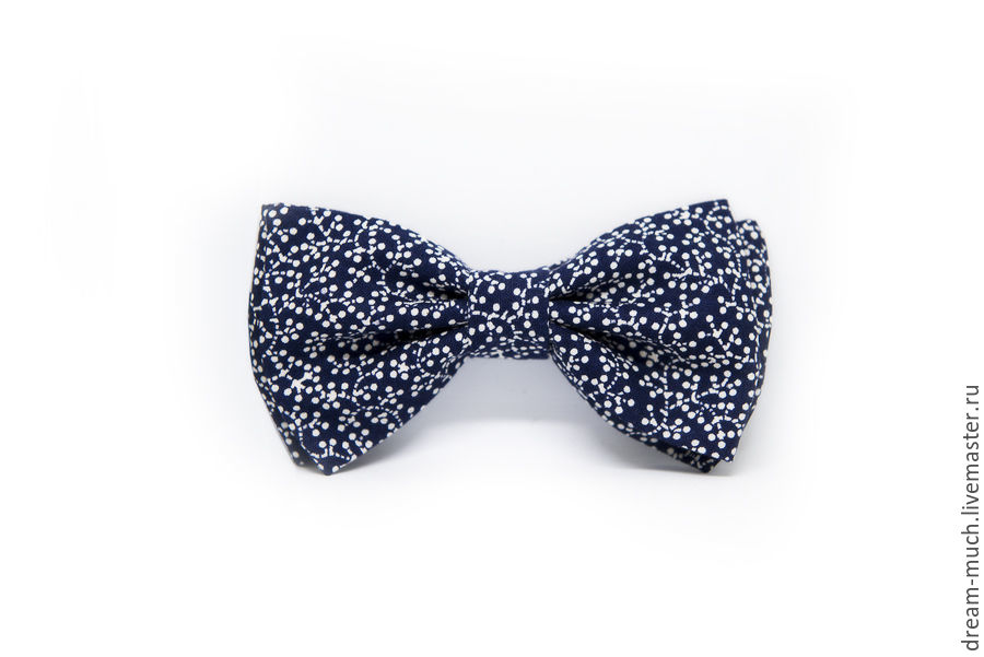 Tie dark blue with bubbles, Ties, Moscow,  Фото №1