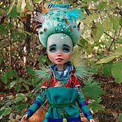 Куклы и игрушки handmade. Livemaster - original item OOAK. Alfic A Feather. Jointed doll.. Handmade.