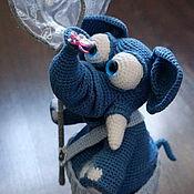 Куклы и игрушки ручной работы. Ярмарка Мастеров - ручная работа Милый слоник. Handmade.