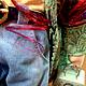 Куклы Тильды ручной работы. Кукла Ведьмочка Путешественица. Наталья (podlipki-klub). Ярмарка Мастеров. Разноцветный, оберег для дома, профессиональный