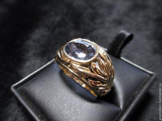 """Кольца ручной работы. Ярмарка Мастеров - ручная работа. Купить Уникальное золотое кольцо с сапфиром 4,86 карат """"Тень Сатурна"""". Handmade."""