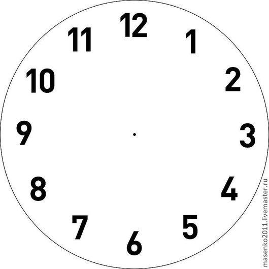 Декупаж и роспись ручной работы. Ярмарка Мастеров - ручная работа. Купить трафарет  для часов № 2. Handmade. Трафарет