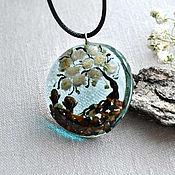 Украшения handmade. Livemaster - original item Jewelry resin pendant, tree of life. Handmade.