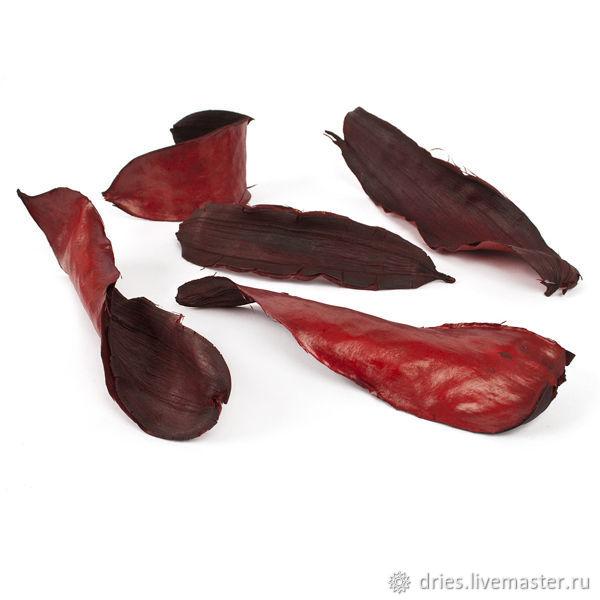 Материалы: тиборна листья красные, , Москва, Фото №1