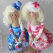 Куклы и игрушки ручной работы. Ярмарка Мастеров - ручная работа Две сестры близняшки. Handmade.
