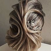 Украшения ручной работы. Ярмарка Мастеров - ручная работа Шпильки для прически невесты. Handmade.