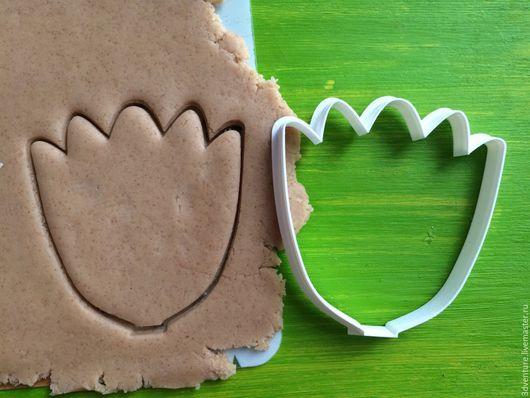 Кухня ручной работы. Ярмарка Мастеров - ручная работа. Купить Форма для печенья Большой тюльпан. Handmade. Разноцветный, формочка для печенья
