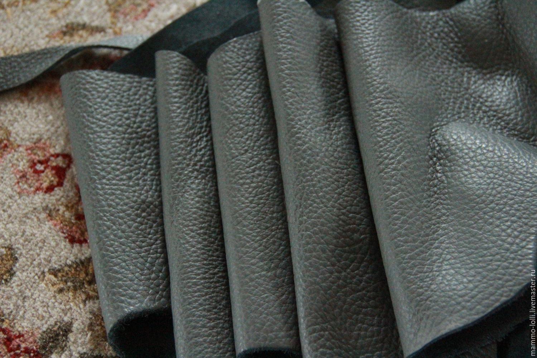 П74 Серая? 1220 грамм 2мм. КРС Натуральная кожа, Кожа, Дедовск, Фото №1