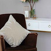 Для дома и интерьера handmade. Livemaster - original item Cushion cover Fern. Handmade.