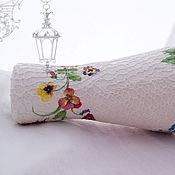 Для дома и интерьера ручной работы. Ярмарка Мастеров - ручная работа вазочка Фата лета для живых цветов. Handmade.