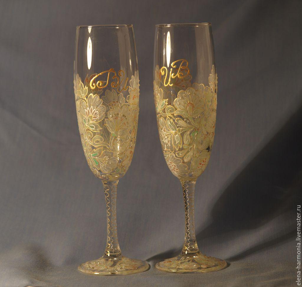 Заказать бокалы на свадьбу