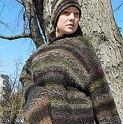 """Одежда ручной работы. Ярмарка Мастеров - ручная работа """"О ТЕБЕ..."""" Мужской свитер Норо. Handmade."""
