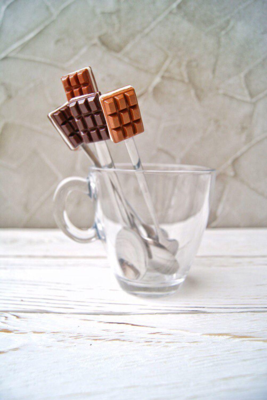 Чайная ложка с декором Шоколад и Печенье, Ложки, Санкт-Петербург, Фото №1