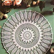 Для дома и интерьера handmade. Livemaster - original item Napkins: 53-55 / SPIKELET napkin, insert in dreamcatcher. Handmade.