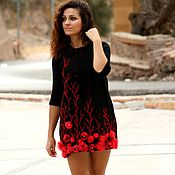 "Одежда handmade. Livemaster - original item ""Red&Black"". Handmade."