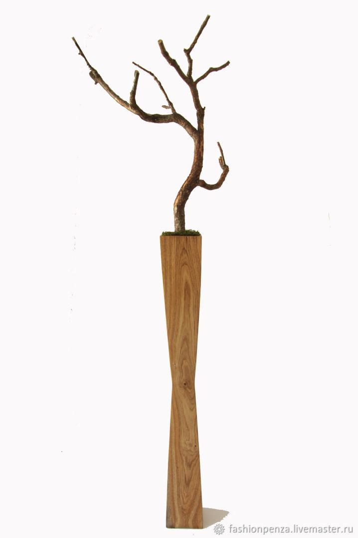 Подставка из массива дуба, Вазы, Пенза,  Фото №1